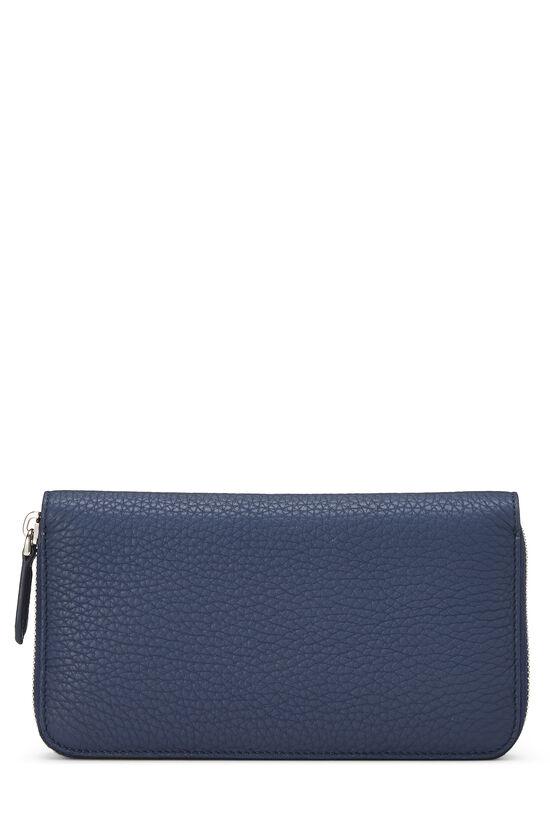 Navy Leather Forever Wallet, , large image number 2