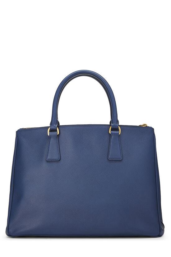 Blue Saffiano Executive Tote Large, , large image number 3