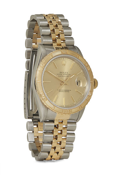 Stainless Steel &18K Yellow Gold Datejust Turn-O-Graph 16263 36mm