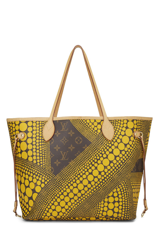 Yayoi Kusama x Louis Vuitton Yellow Monogram Dots Infinity Neverfull MM, , large image number 3