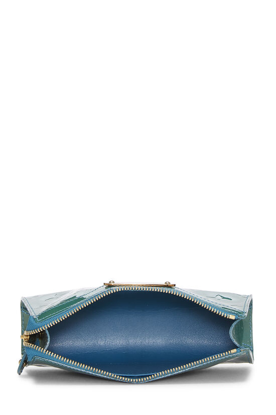 Green Monogram Vernis Trousse Cosmetic Pouch, , large image number 3