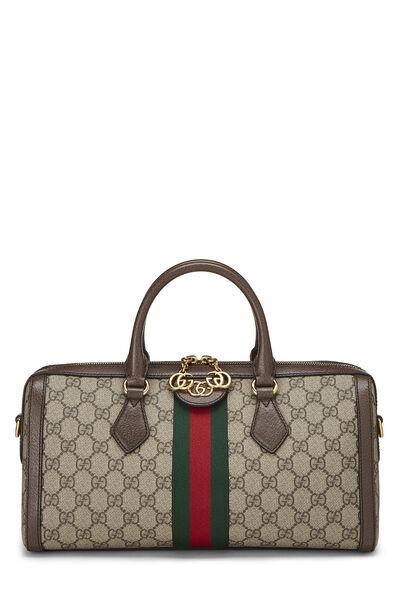 Original GG Supreme Ophidia Top Handle Bag Medium