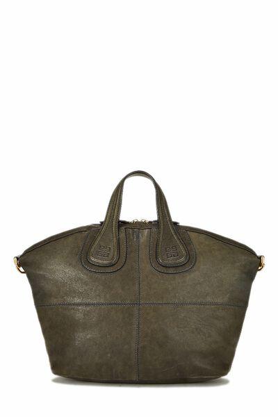 Green Leather Nightingale Medium