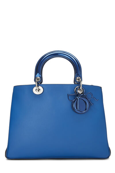 Blue Leather Diorissimo Medium