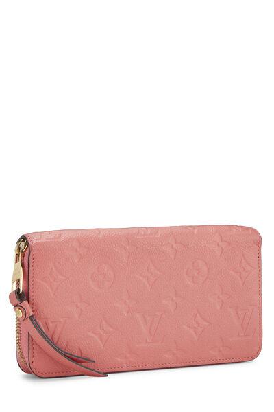 Pink Empreinte Zippy Continental Wallet, , large
