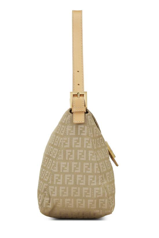 Beige Zucchino Canvas Shoulder Bag, , large image number 2