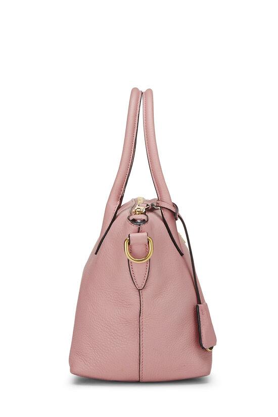 Pink Vitello Daino Handbag Small, , large image number 2