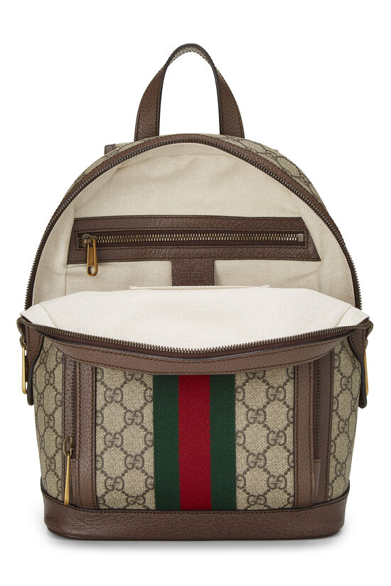 Original GG Supreme Canvas Ophidia Backpack Small, , large image number 5
