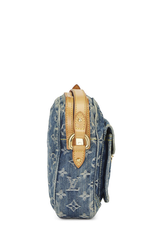Blue Monogram Denim Camera Bag, , large image number 3
