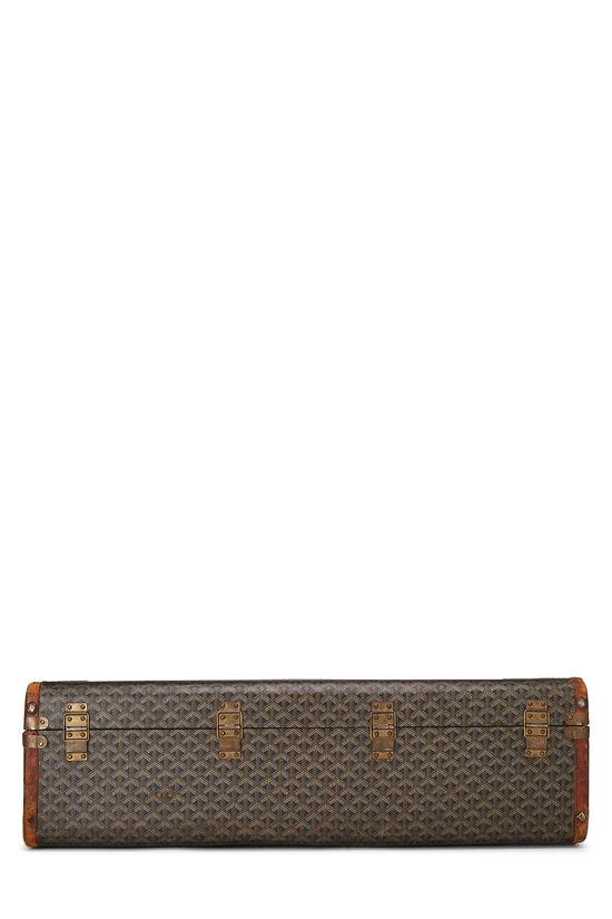 Black Goyardine Coated Canvas Suitcase, , large image number 4