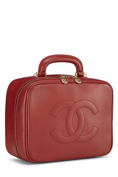 Red Caviar Lunch Box Vanity, , large