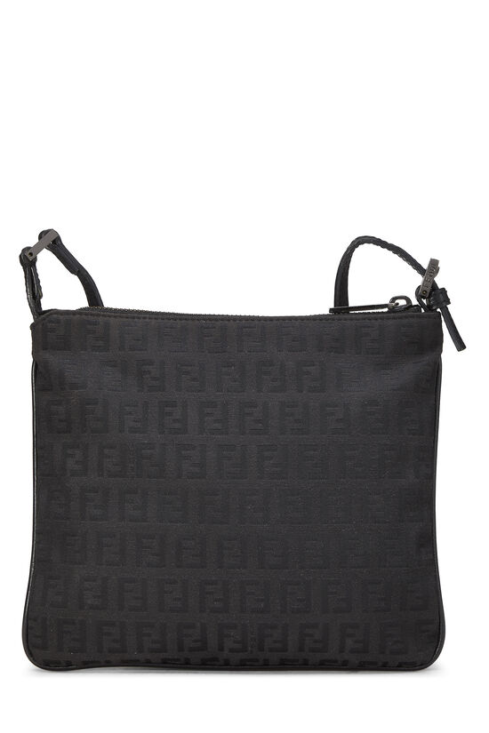 Black Zucchino Canvas Shoulder Bag Small, , large image number 3