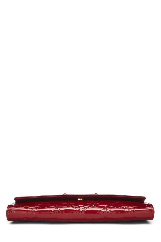 Cerise Monogram Vernis Sunset Boulevard Shoulder Bag, , large image number 4