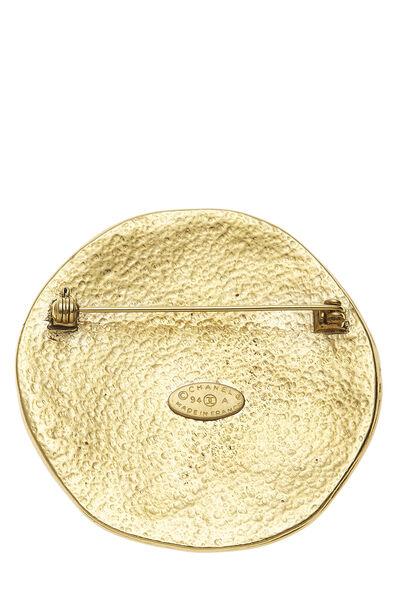 Gold 'CC' Sun Pin, , large
