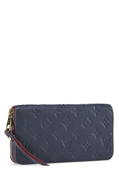Bleu Infini Monogram Empreinte Zippy Continental Wallet, , large
