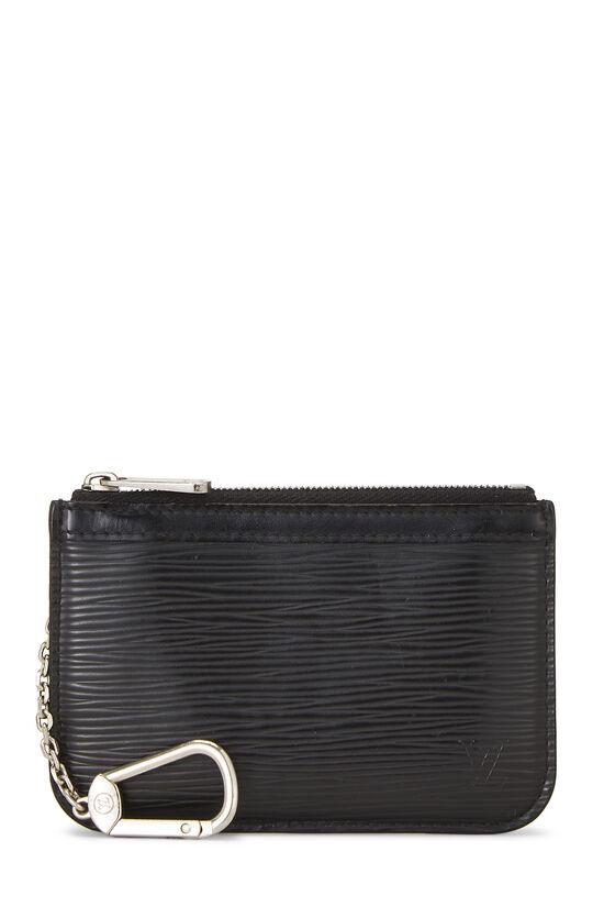 Black Epi Pochette Clefs, , large image number 0