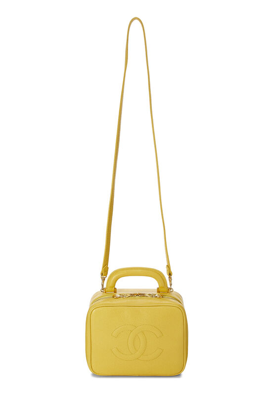 Yellow Caviar Lunch Box Vanity, , large image number 1