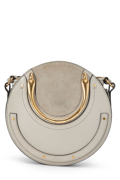 Motty Grey Suede & Leather Pixie Small
