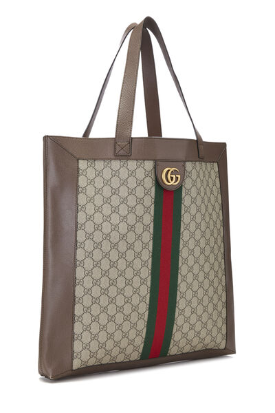 Original GG Supreme Canvas Ophidia Tote Large, , large