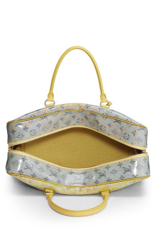 Richard Prince x Louis Vuitton Jaune Denim Pulp Weekender GM, , large image number 5