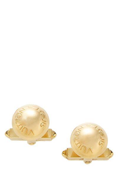 Gold-Tone Cufflinks