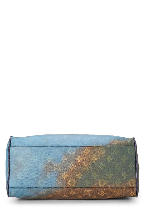 Richard Prince x Louis Vuitton Blue Monogram Heartbreak Jokes Tote, , large image number 4