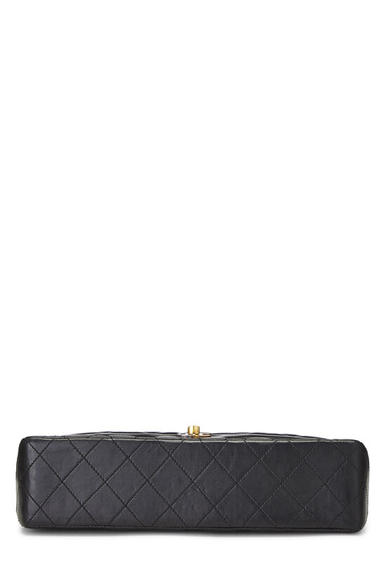 Black Quilted Lambskin Paris Limited Double Flap Medium, , large image number 4