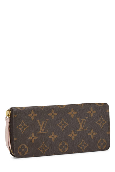 Monogram Canvas Clemence Continental Wallet, , large