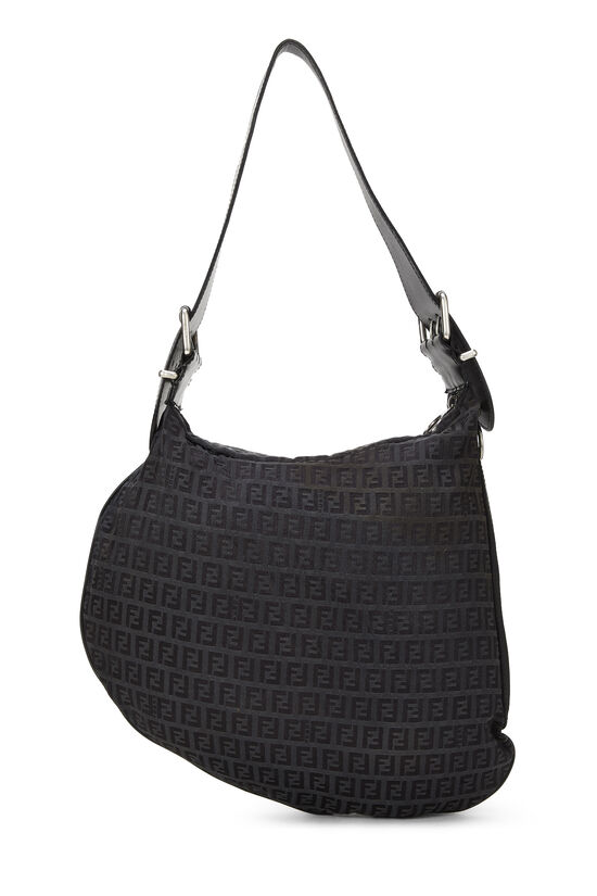 Black Zucchino Canvas Oyster Bag, , large image number 3