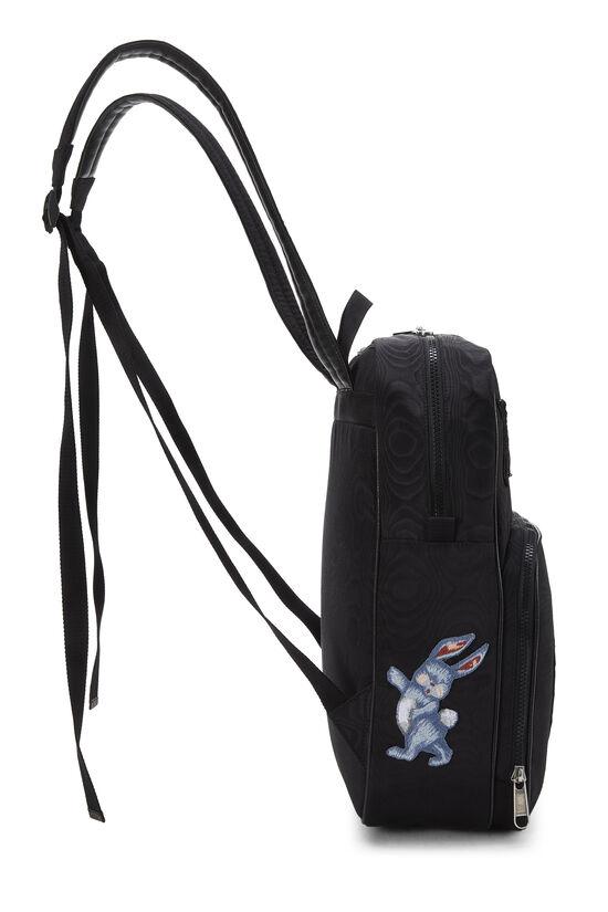 Black Nylon Tenebre Backpack, , large image number 2