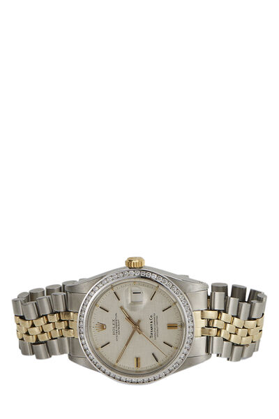 Tiffany & Co. Diamond & Stainless Steel Datejust 1601 36mm, , large