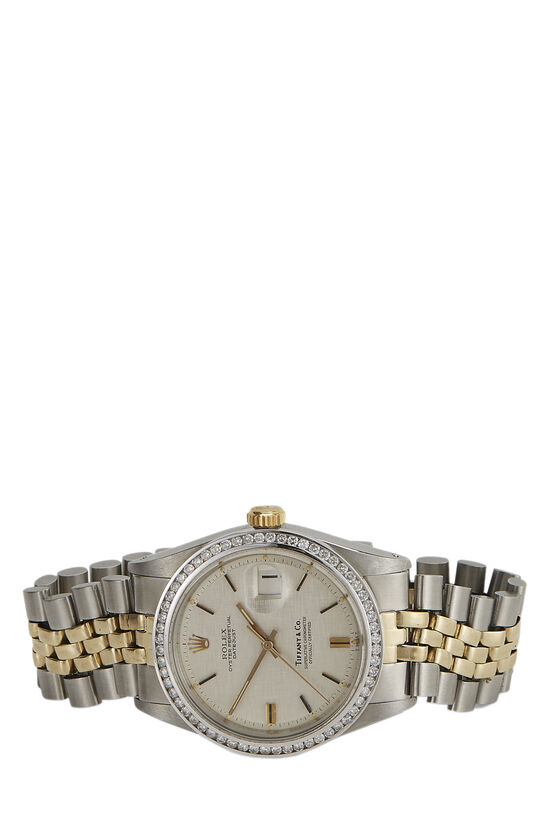 Tiffany & Co. Diamond & Stainless Steel Datejust 1601 36mm, , large image number 1