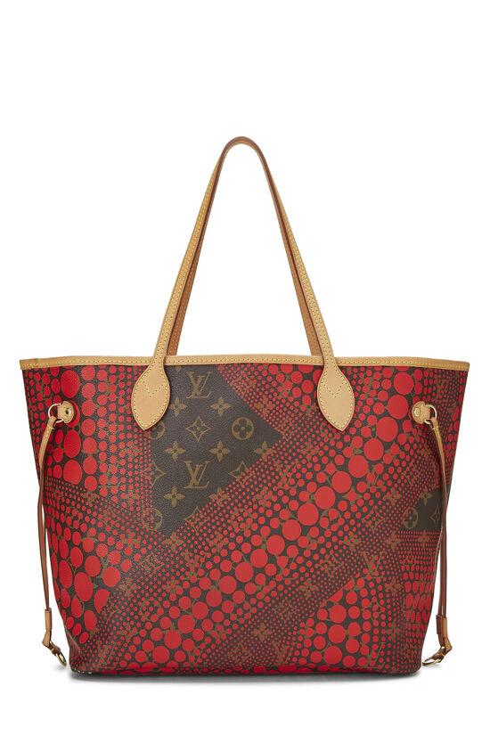 Yayoi Kusama x Louis Vuitton Red Monogram Dots Infinity Neverfull MM, , large image number 3