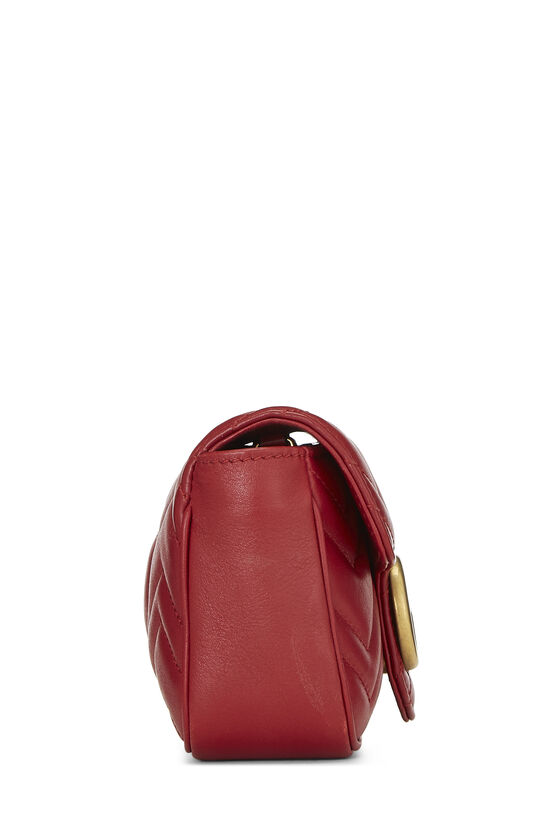 Red Leather Marmont Crossbody Extra Mini, , large image number 3