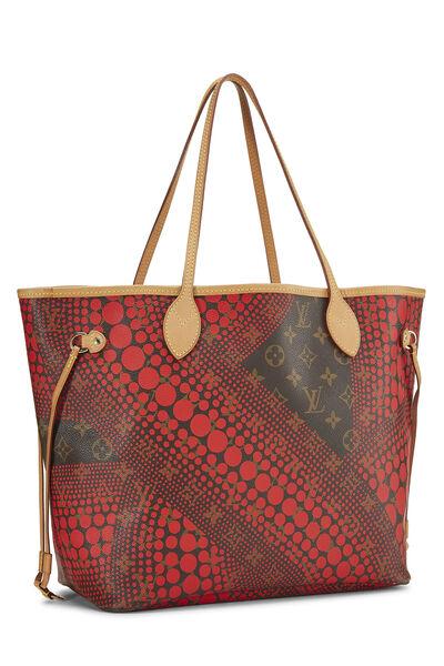 Yayoi Kusama x Louis Vuitton Red Monogram Dots Infinity Neverfull MM, , large