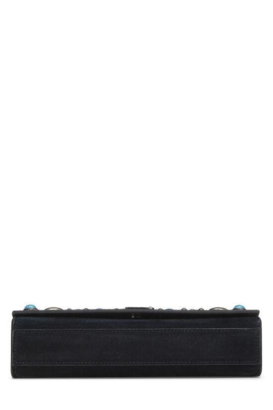 Black Suede Embellished Kate Small, , large image number 4