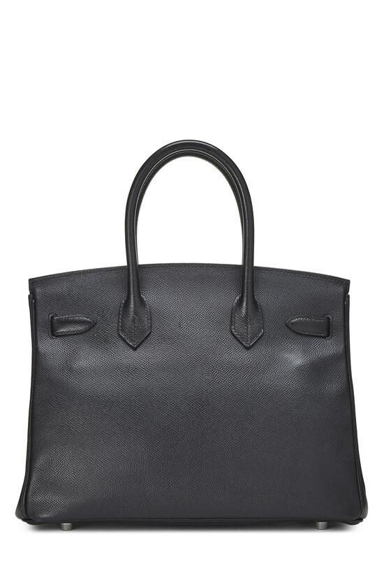 Black Epsom Birkin 30, , large image number 3