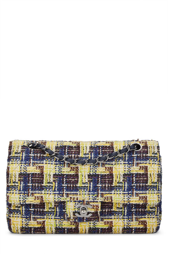 Multicolor Tweed Classic Double Flap Medium, , large image number 0