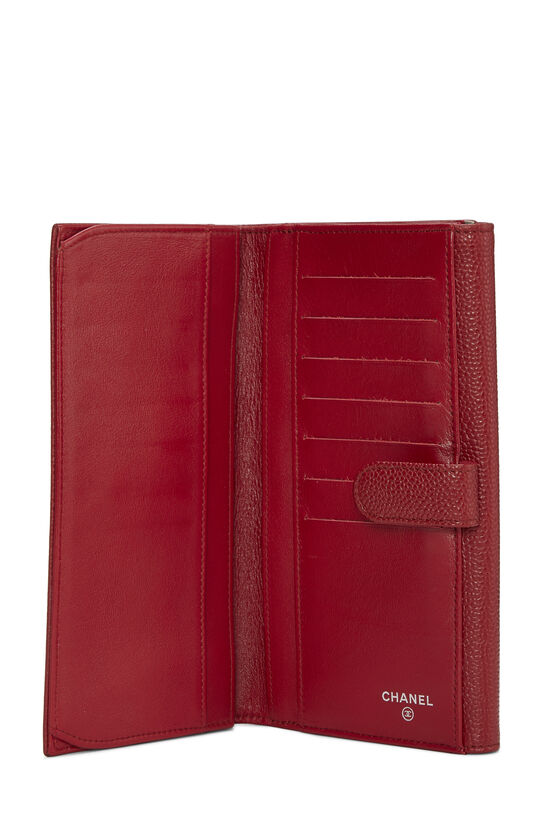 Red Caviar 'CC' Organizer Wallet, , large image number 3