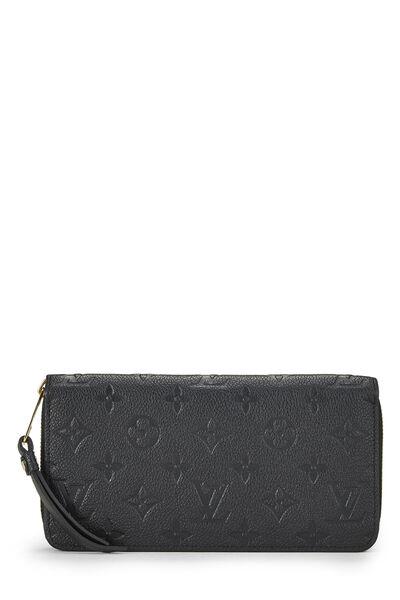 Black Empreinte Zippy Wallet