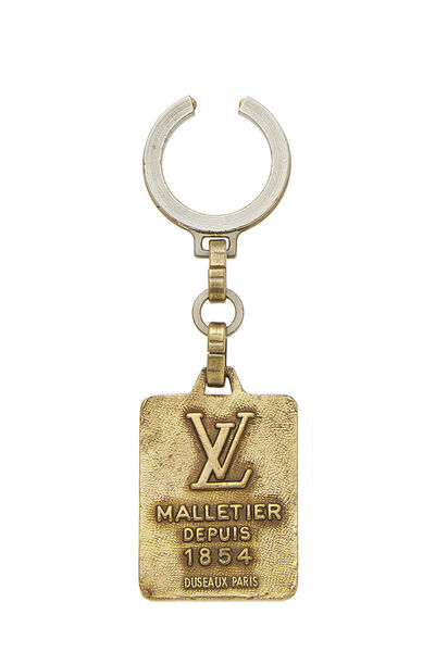 Gold Malletier Keychain, , large