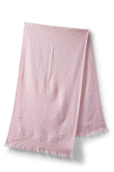 Pink Wool Stole