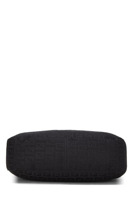 Black Zucchino Canvas Shoulder Bag, , large image number 4
