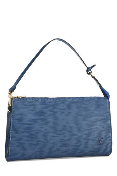 Toledo Blue Epi Pochette Accessoires, , large