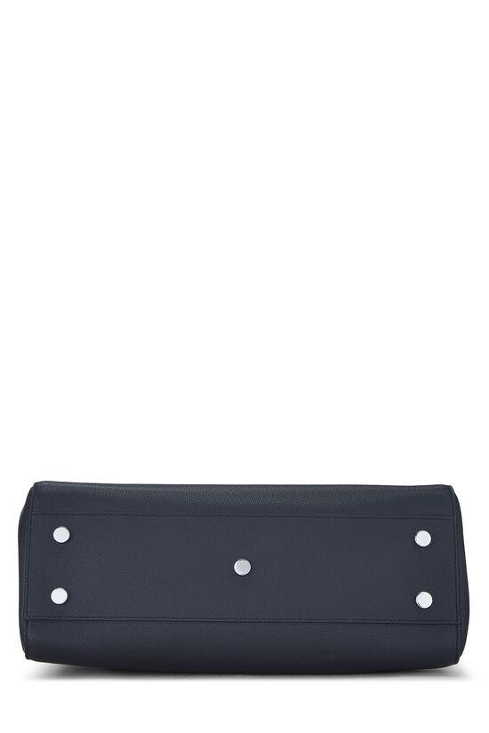 Navy Leather Rive Gauche Medium, , large image number 4