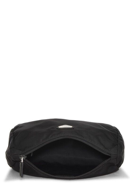 Black Nylon Zip Pouch, , large image number 3
