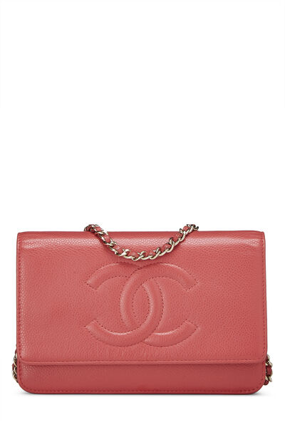 Pink Caviar Timeless Wallet on Chain (WOC)