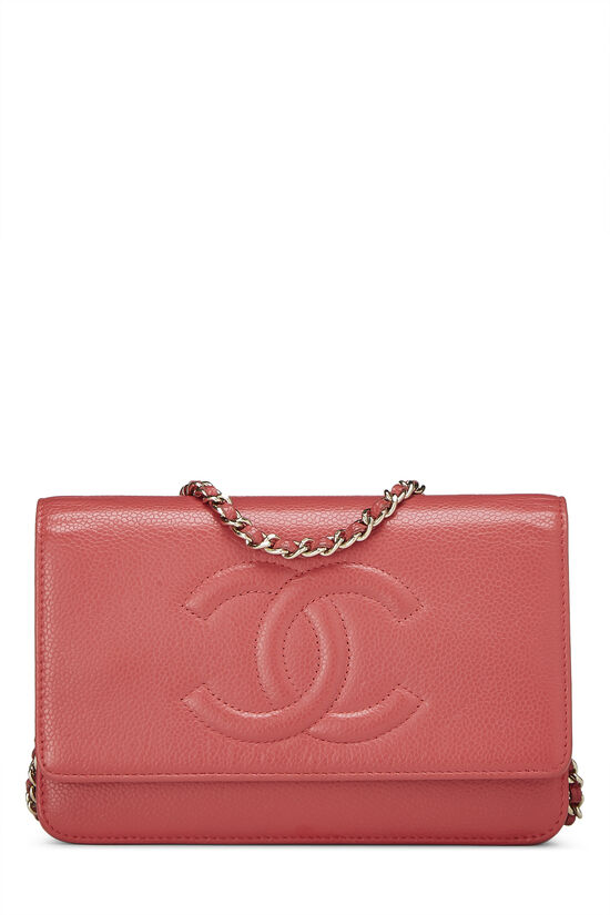 Pink Caviar Timeless Wallet on Chain (WOC), , large image number 0