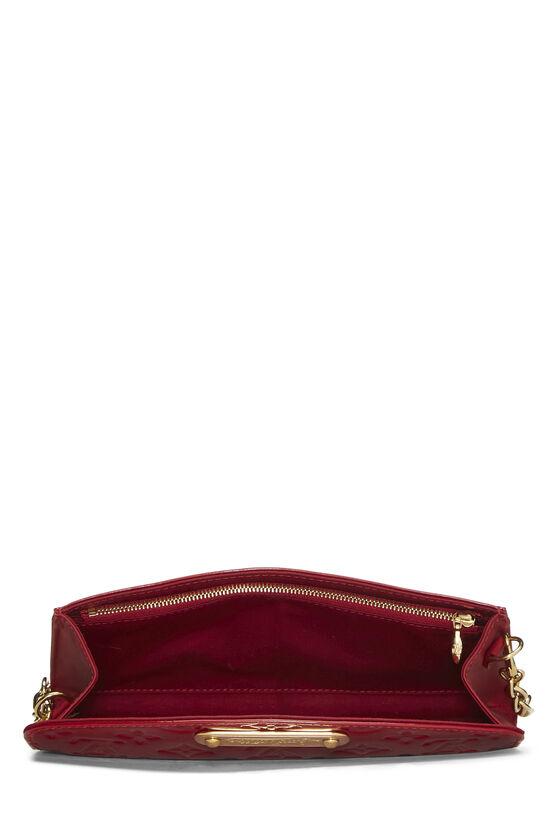 Cerise Monogram Vernis Sunset Boulevard Shoulder Bag, , large image number 5