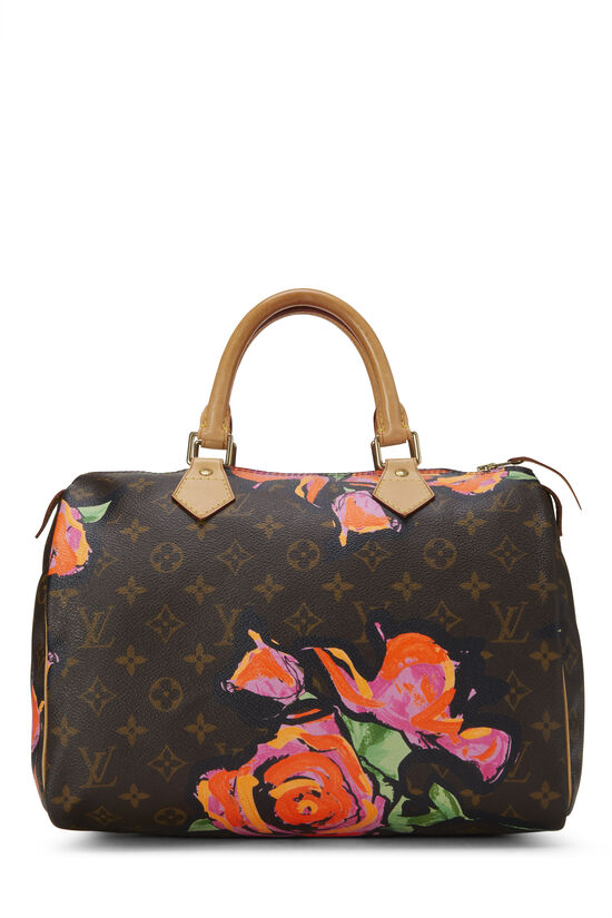 Stephen Sprouse x Louis Vuitton Monogram Roses Speedy 30, , large image number 0